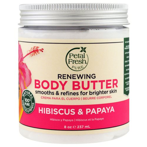 Petal Fresh, Pure, Body Butter, Renewing, Hibiscus & Papaya, 8 oz (237 ml) Review