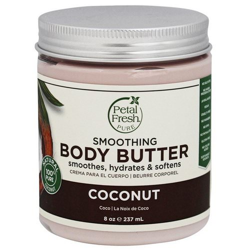 Petal Fresh, Pure, Body Butter, Ultra Moisturizing, Coconut, 8 oz (237 ml) Review