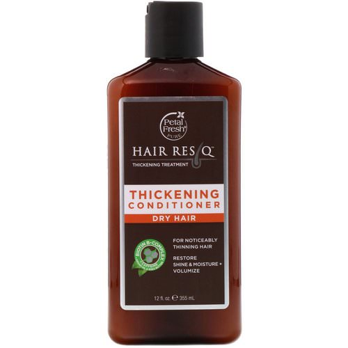 Petal Fresh, Pure, Hair ResQ, Thickening Treatment Conditioner, for Dry Hair, 12 fl oz (355 ml) Review
