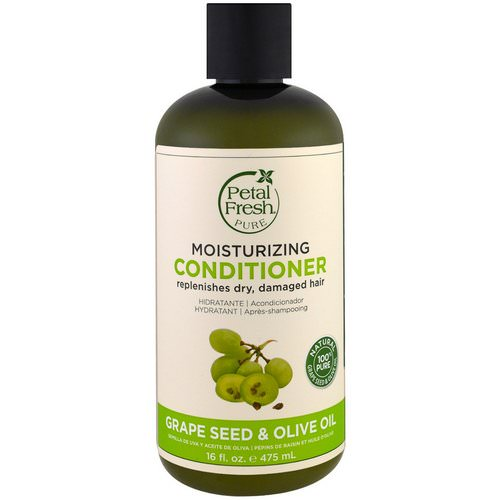Petal Fresh, Pure, Moisturizing Conditioner, Grape Seed & Olive Oil, 16 fl oz (475 ml) Review