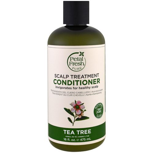 Petal Fresh, Pure, Scalp Treatment Conditioner, Tea Tree, 16 fl oz (475 ml) Review