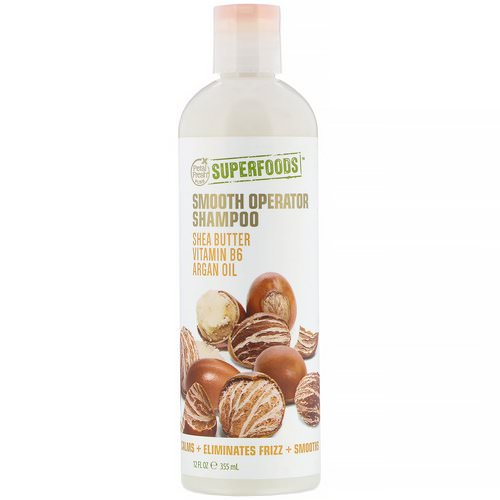 Petal Fresh, Pure, SuperFoods, Smooth Operator Shampoo, Shea Butter, Vitamin B6 & Argan Oil, 12 fl oz (355 ml) Review
