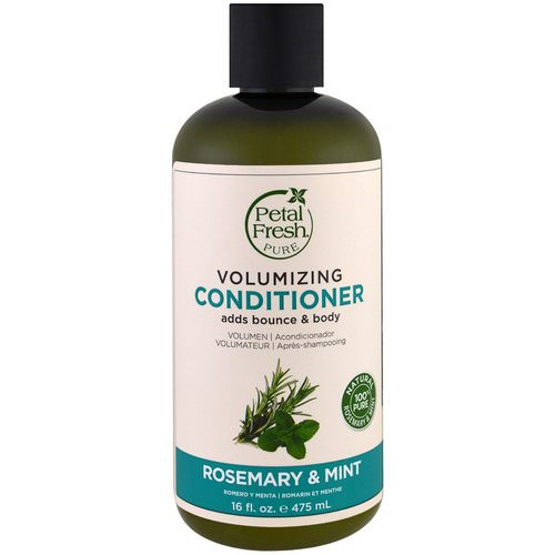 Petal Fresh, Pure, Volumizing Conditioner, Rosemary & Mint, 16 fl oz (475 ml) Review