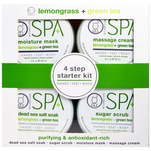 Petal Fresh, Spa, 4 Step Starter Kit, Purifying and Antioxidant Rich, Lemongrass + Green Tea, 4 - 3 fl oz (85 ml) Each Review