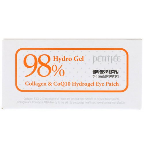 Petitfee, Collagen & CoQ10 Hydrogel Eye Patch, 60 Patches, 1.4 g Each Review