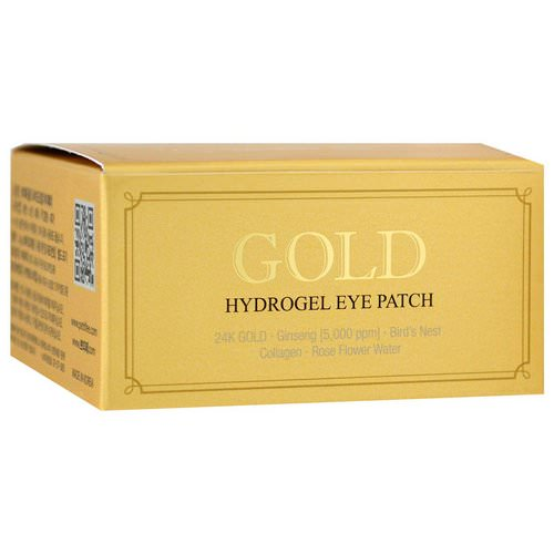Petitfee, Gold Hydrogel Eye Patch, 60 Pieces Review