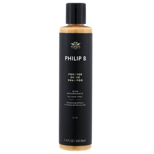 Philip B, Forever Shine Shampoo, Oud, 7.4 fl oz (220 ml) Review