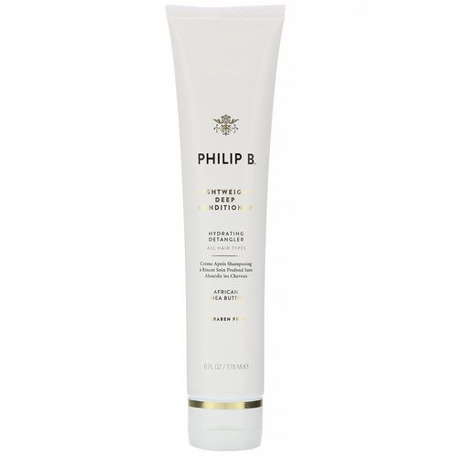 Philip B, Lightweight Deep Conditioner, African Shea Butter, 6 fl oz (178 ml) Review