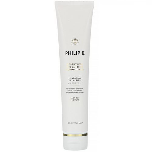 Philip B, Weightless Volumizing Conditioner, Magnolia Flowers, 6 fl oz (178 ml) Review