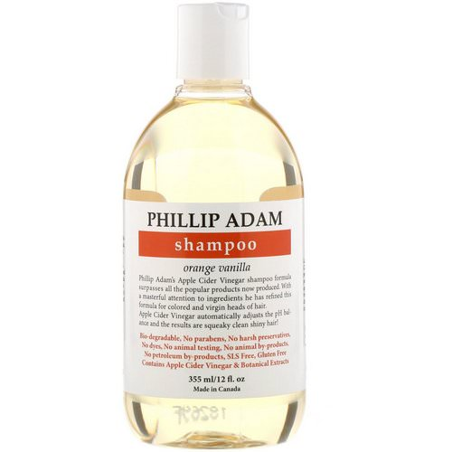 Phillip Adam, Shampoo, Orange Vanilla, 12 fl oz (355 ml) Review