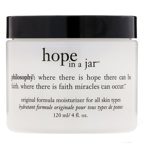 Philosophy, Hope in a Jar, Original Formula Moisturizer, 4 fl oz (120 ml) Review