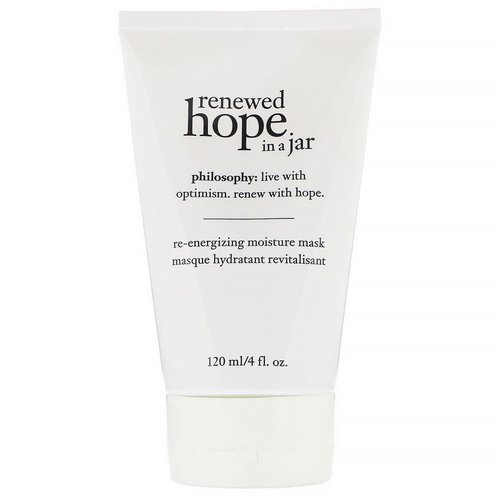 Philosophy, Renewed Hope in a Jar, Re-Energizing Moisture Mask, 4 fl oz (120 ml) Review
