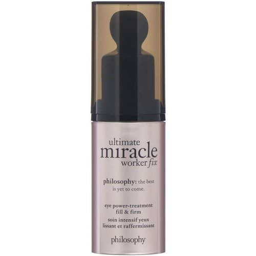 Philosophy, Ultimate Miracle Worker, Eye Fix Power Treatment, 0.5 fl oz (15 ml) Review