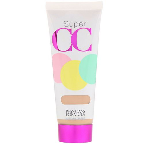 Physicians Formula, Super CC, Color-Correction + Care Cream, SPF 30, Light, 1.2 fl oz (35 ml) Review