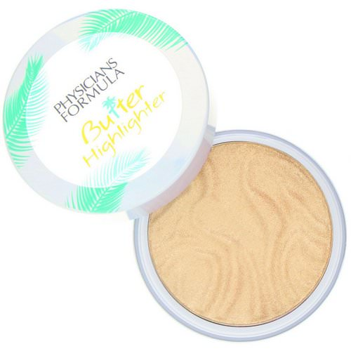 Physicians Formula, Butter Highlighter, Cream to Powder Highlighter, Champagne, 0.17 oz (5 g) Review