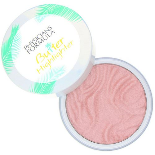 Physicians Formula, Butter Highlighter, Cream to Powder Highlighter, Pink/Rose, 0.17 oz (5 g) Review
