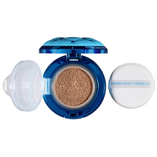 Physicians Formula, Mineral Wear, Cushion Foundation, SPF 50, Light/Medium, 0.47 fl oz (14 ml) Review
