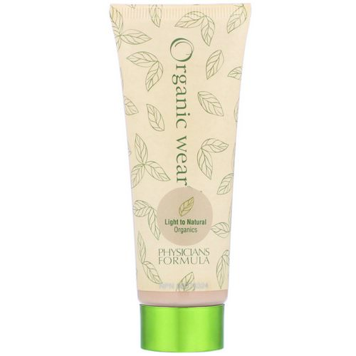 Physicians Formula, Organic Wear, Tinted Moisturizer, SPF 15, Light to Natural Organics, 1.5 fl oz (44 ml) Review