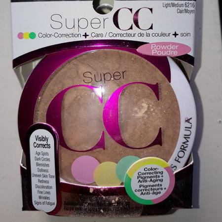 Physicians Formula, Super CC+, Color-Correction + Care, CC+ Powder, SPF 30, Light/Medium, 0.3 oz (8.5 g) Review
