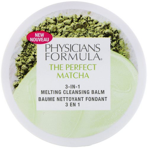 Physicians Formula, The Perfect Matcha, 3-in-1 Melting Cleansing Balm, 1.4 oz (40 g) Review