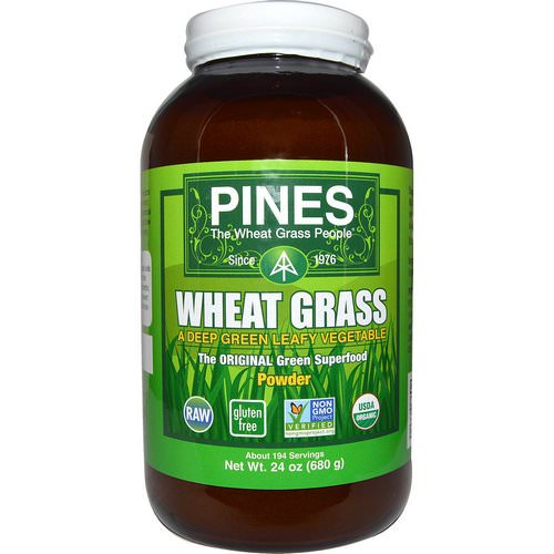 Pines International, Pines Wheat Grass, Powder, 1.5 lbs (680 g) Review