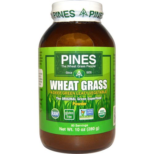 Pines International, Wheat Grass Powder, 10 oz (280 g) Review