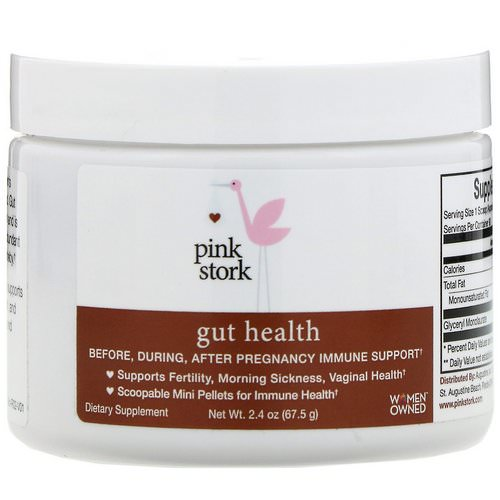 Pink Stork, Gut Health, Pregnancy Immune Support, 2.4 oz (67.5 g) Review