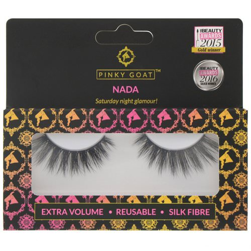 Pinky Goat, Nada, Extra Volume False Eyelashes, 1 Pair Review