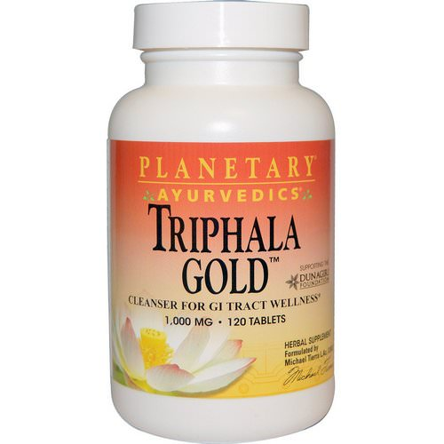 Planetary Herbals, Ayurvedics, Triphala Gold, 1,000 mg, 120 Tablets Review
