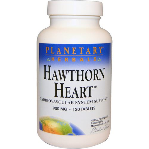 Planetary Herbals, Hawthorn Heart, 900 mg, 120 Tablets Review