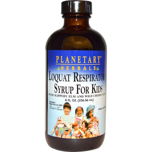 Planetary Herbals, Loquat Respiratory Syrup for Kids, 8 fl oz (236.56 ml) Review