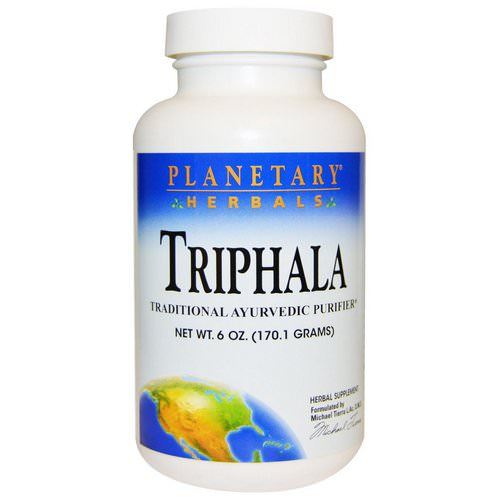 Planetary Herbals, Triphala, Powder, 6 oz (170.1 g) Review