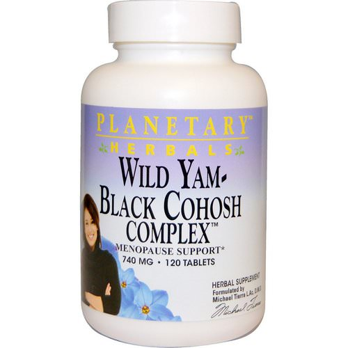 Planetary Herbals, Wild Yam - Black Cohosh Complex, 740 mg, 120 Tablets Review