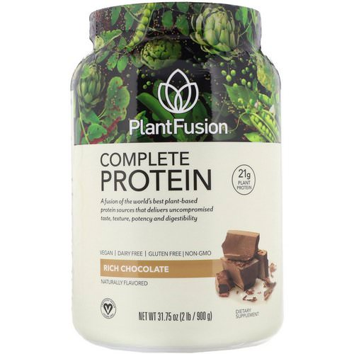 PlantFusion, Complete Protein, Rich Chocolate, 2 lb (900 g) Review