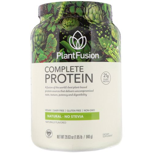 PlantFusion, Complete Protein, Natural, 1.85 lb (840 g) Review