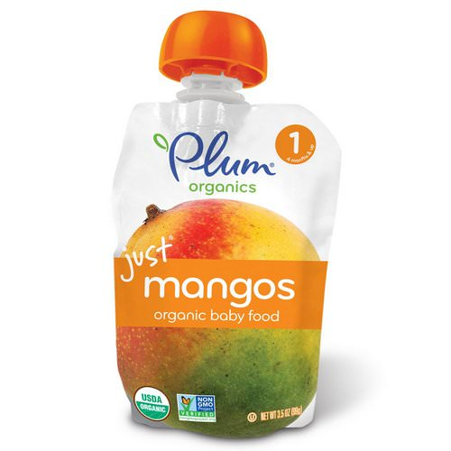 Plum Organics, Organic Baby Food, Stage 1, Just Mangos, 3.5 oz (99 g) Review