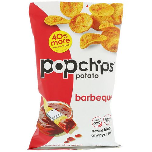 Popchips, Potato Chips, Barbeque, 5 oz (142 g) Review