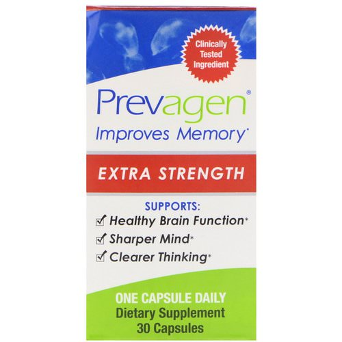 Prevagen, Prevagen, Extra Strength, 30 Capsules Review