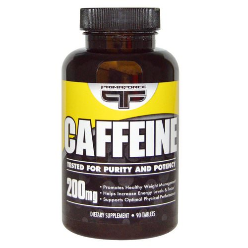 Primaforce, Caffeine, 200 mg, 90 Tablets Review