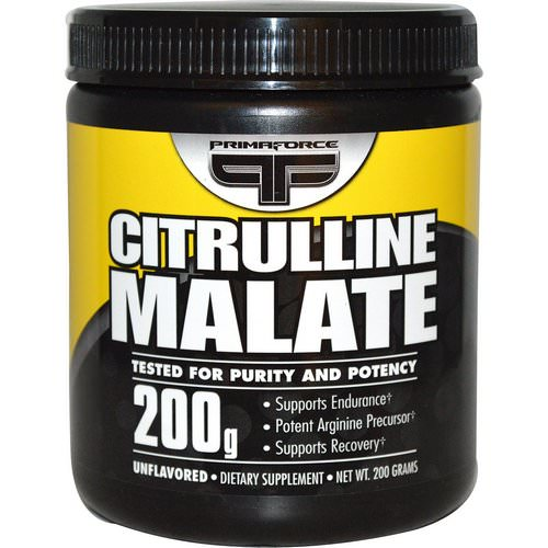 Primaforce, Citrulline Malate, Unflavored, 200 g Review