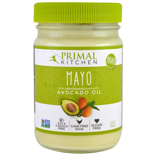 Primal Kitchen, Mayonnaise with Avocado Oil, 12 fl oz (355 ml) Review