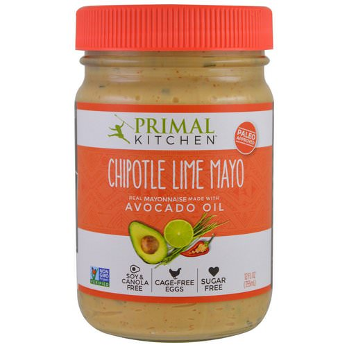 Primal Kitchen, Mayonnaise with Avocado Oil, Chipotle Lime, 12 fl oz (355 ml) Review
