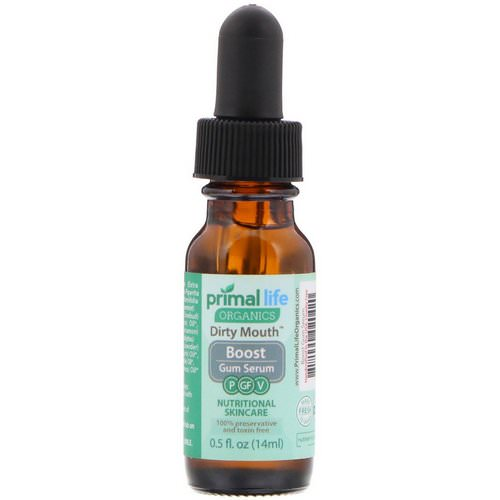 Primal Life Organics, Dirty Mouth Boost Gum Serum, 0.5 fl oz (14 ml) Review