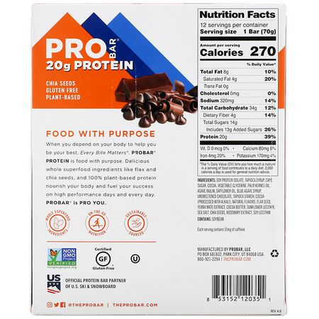 ProBar, Soy Protein Bars