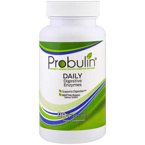 Probulin, Daily Digestive Enzymes, 90 Capsules Review