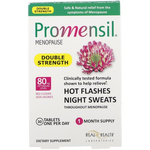 Promensil, Menopause, Double Strength, 30 Tablets Review