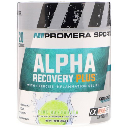 Promera Sports, Alpha Recovery Plus, Lime Margarita, 7.53 oz (213.3 g) Review