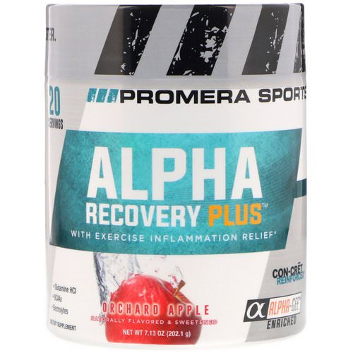 Promera Sports, Alpha Recovery Plus, Orchard Apple, 7.13 oz (202.1 g) Review