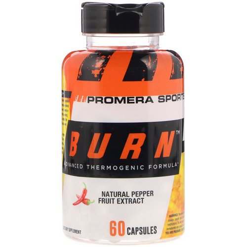 Promera Sports, Burn, Advanced Thermogenic Formula, 60 Capsules Review