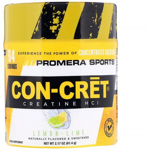 Promera Sports, Con-Cret Creatine HCl, Lemon-Lime, 2.17 oz (61.4 g) Review